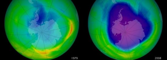 The Ozone Hole is Healing