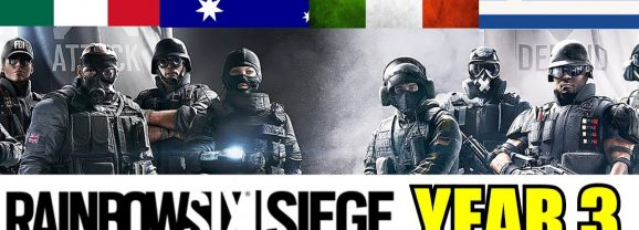RAINBOW SIX SIEGE – WHAT'S COMING IN YEAR 3