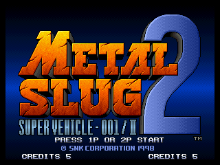 Let's Play Metal Slug Anthology: Metal Slug 2