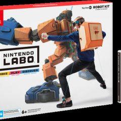 NINTENDO LABO – NINTENDO LABO – TOY-CON 02: ROBOT KIT
