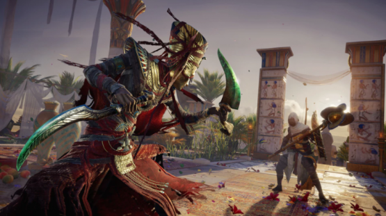 ASSASSIN'S CREED ORIGINS OFFICIAL THE CURSE OF THE PHARAOHS DLC LAUNCH TRAILER