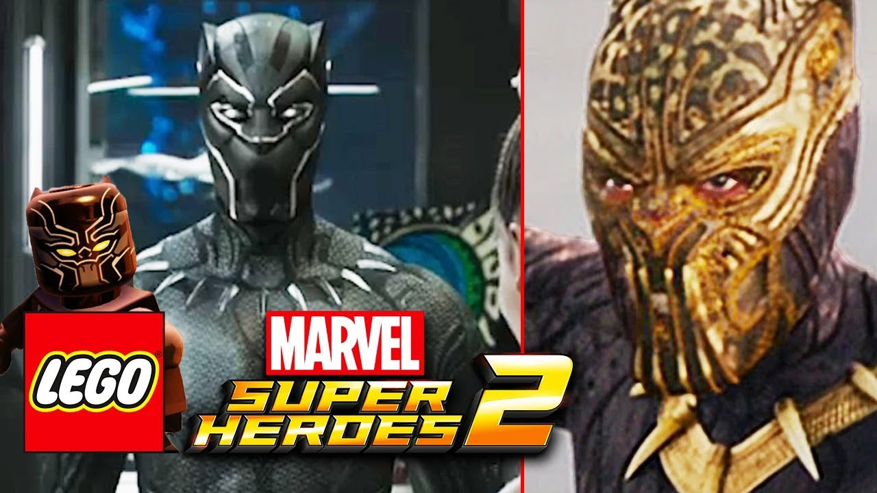 LEGO MARVEL SUPER HEROES 2 BLACK PANTHER DLC REVEAL TRAILER