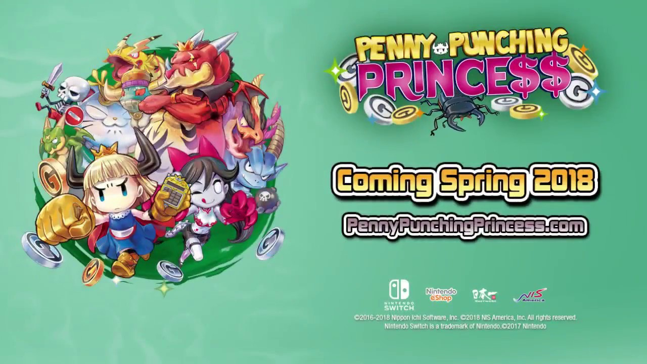 PENNY-PUNCHING PRINCESS OFFICIAL GAMEPLAY TRAILER