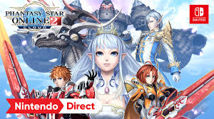 PHANTASY STAR ONLINE 2 CLOUD – NINTENDO DIRECT TRAILER (JAPANESE)