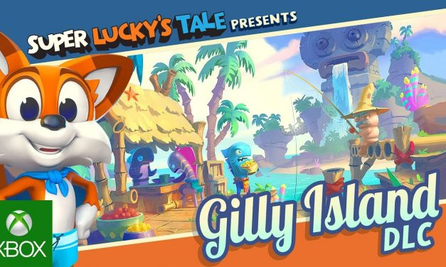SUPER LUCKY'S TALE OFFICIAL GILLY ISLAND DLC TRAILER