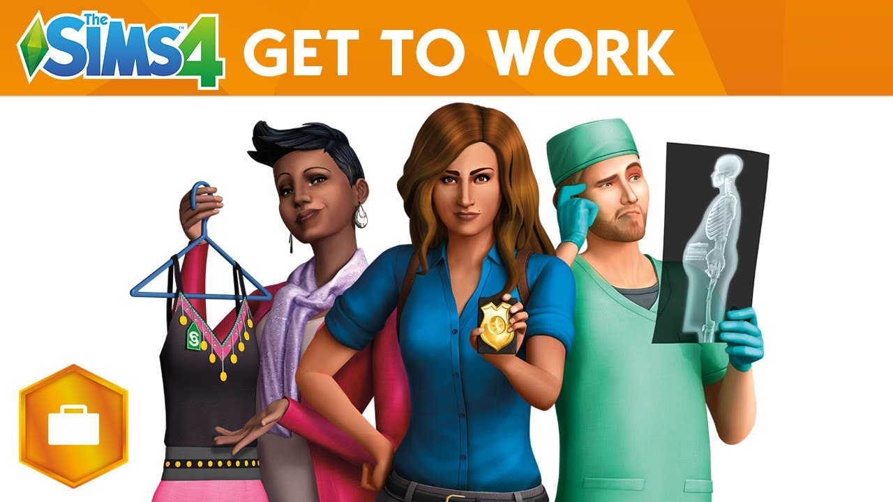 THE SIMS 4 OFFICIAL GET TO WORK TRAILER