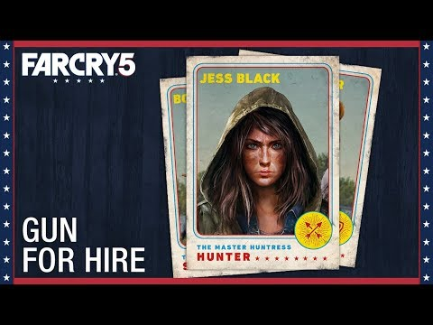 FAR CRY 5 – JESS BLACK CHARACTER SPOTLIGHT TRAILER